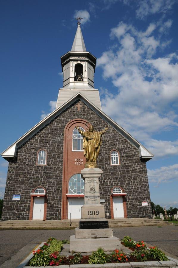 Κεμπέκ, η ιστορική εκκλησία Αγίου Bruno στοκ εικόνες