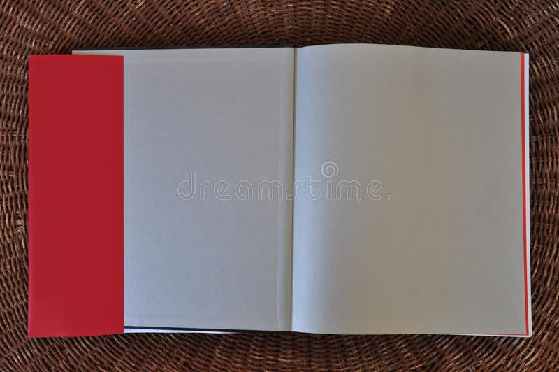 Κενά χτυπήματα σακακιών υποβάθρου και σκόνης εγγράφου σελίδων βιβλίων στοκ φωτογραφία με δικαίωμα ελεύθερης χρήσης