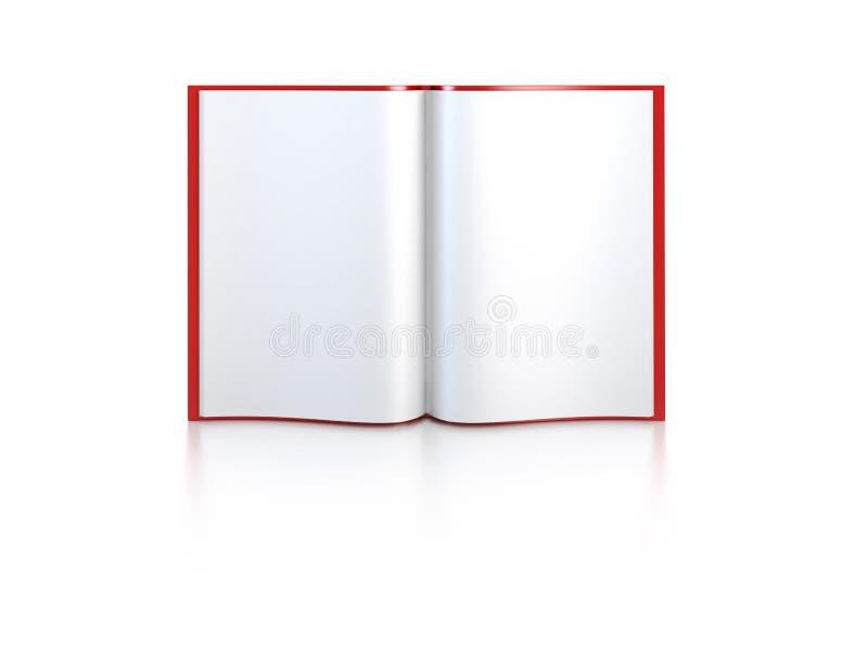 κενές ανοικτές σελίδες &b διανυσματική απεικόνιση
