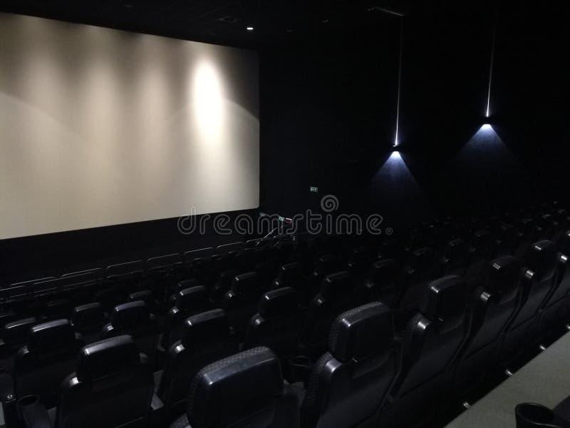 Κενή αίθουσα κινηματογράφων στοκ εικόνες με δικαίωμα ελεύθερης χρήσης