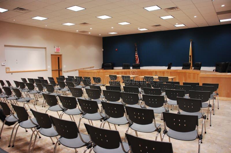 κενή αίθουσα συνεδριάσεων στοκ φωτογραφία με δικαίωμα ελεύθερης χρήσης