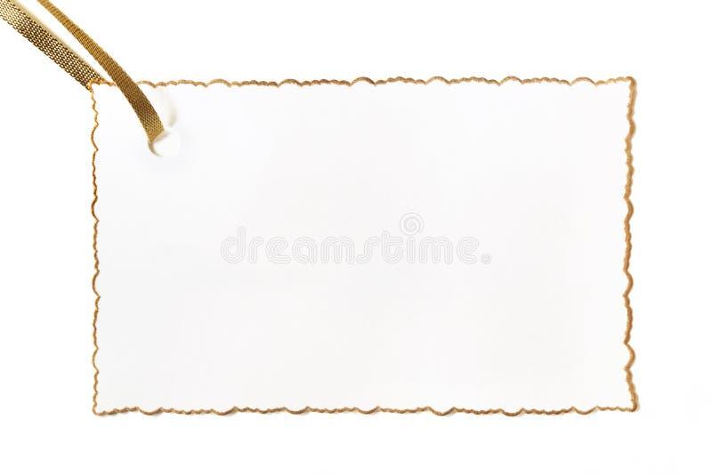 κενή ακονισμένη κάρτα νεαρή  στοκ φωτογραφίες