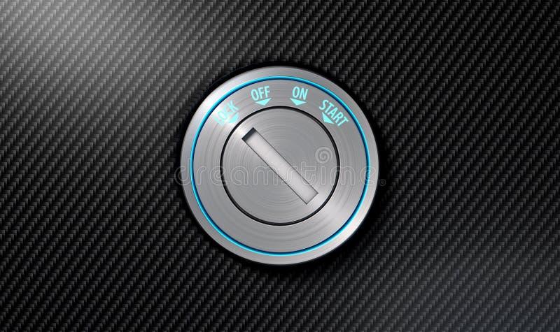 Κενή ανάφλεξη αυτοκινήτων απεικόνιση αποθεμάτων