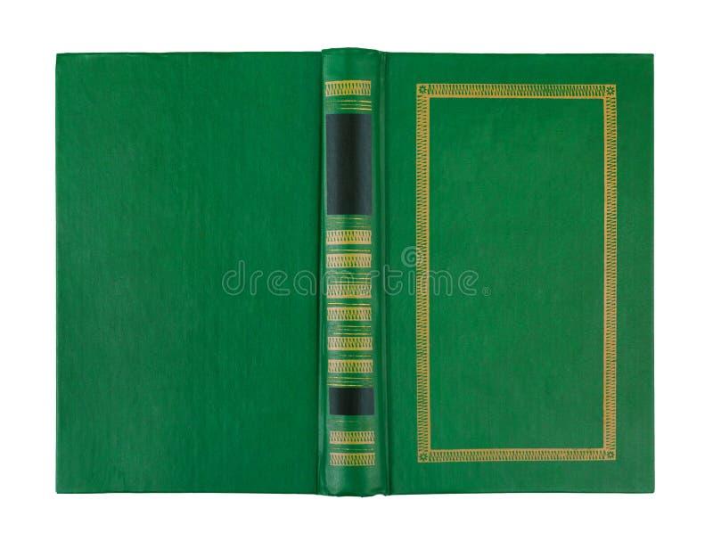 Κενή ανοικτή πράσινη κάλυψη βιβλίων στοκ φωτογραφίες με δικαίωμα ελεύθερης χρήσης