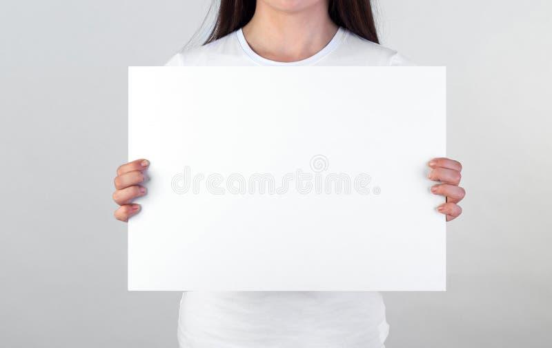 κενή αφίσα στοκ εικόνες με δικαίωμα ελεύθερης χρήσης