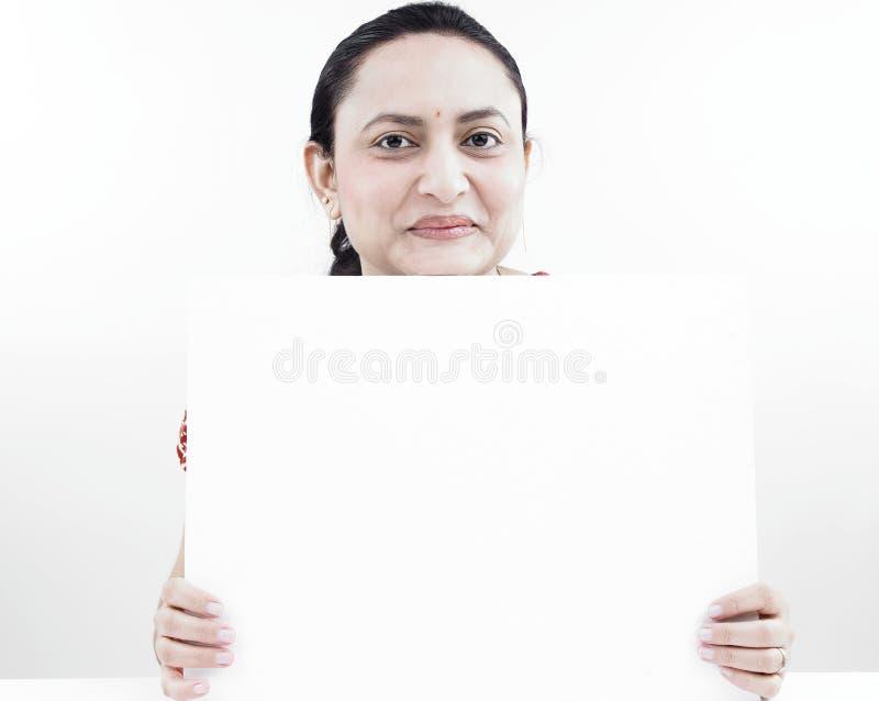 κενή γυναίκα αφισσών στοκ φωτογραφία με δικαίωμα ελεύθερης χρήσης