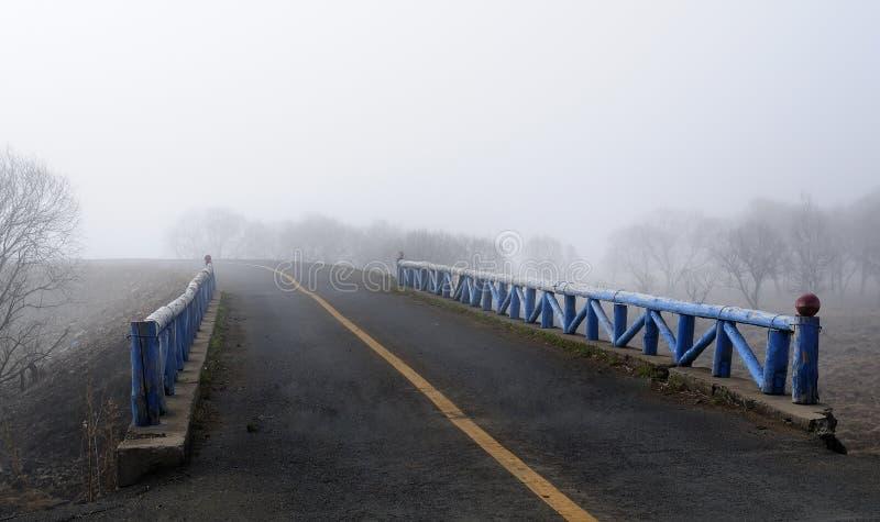 κενή εθνική οδός στοκ εικόνες