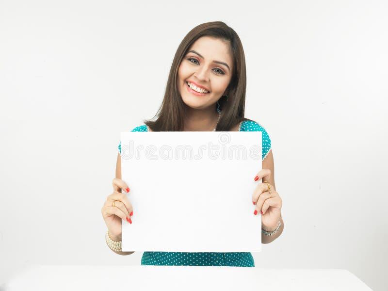 κενή θηλυκή αφίσσα στοκ φωτογραφία με δικαίωμα ελεύθερης χρήσης