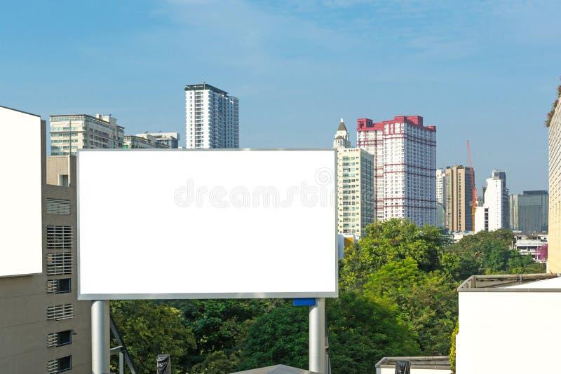 Κενή διαφήμιση πινάκων διαφημίσεων στοκ φωτογραφία με δικαίωμα ελεύθερης χρήσης