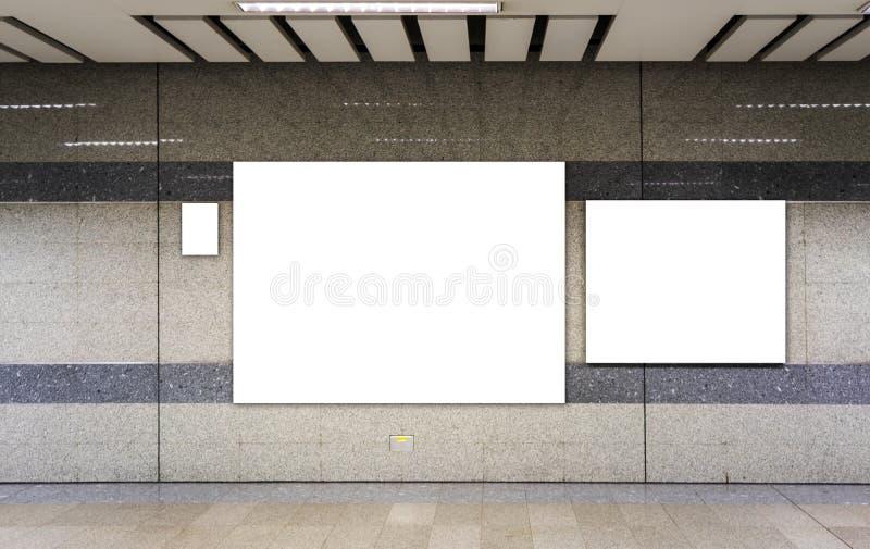 Κενή διαφήμιση πινάκων διαφημίσεων στοκ φωτογραφίες με δικαίωμα ελεύθερης χρήσης
