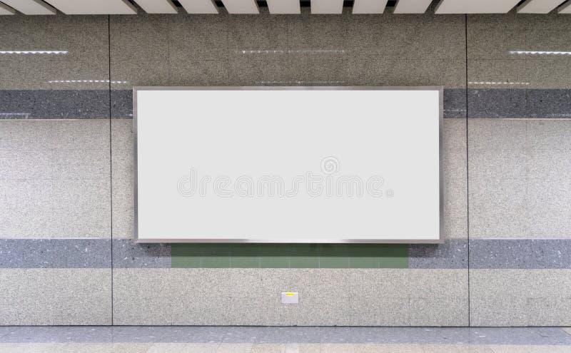 Κενή διαφήμιση πινάκων διαφημίσεων στοκ εικόνα με δικαίωμα ελεύθερης χρήσης