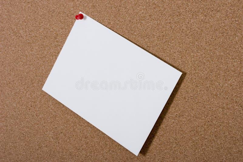 κενή κάρτα δελτίων χαρτονιών στοκ φωτογραφίες με δικαίωμα ελεύθερης χρήσης