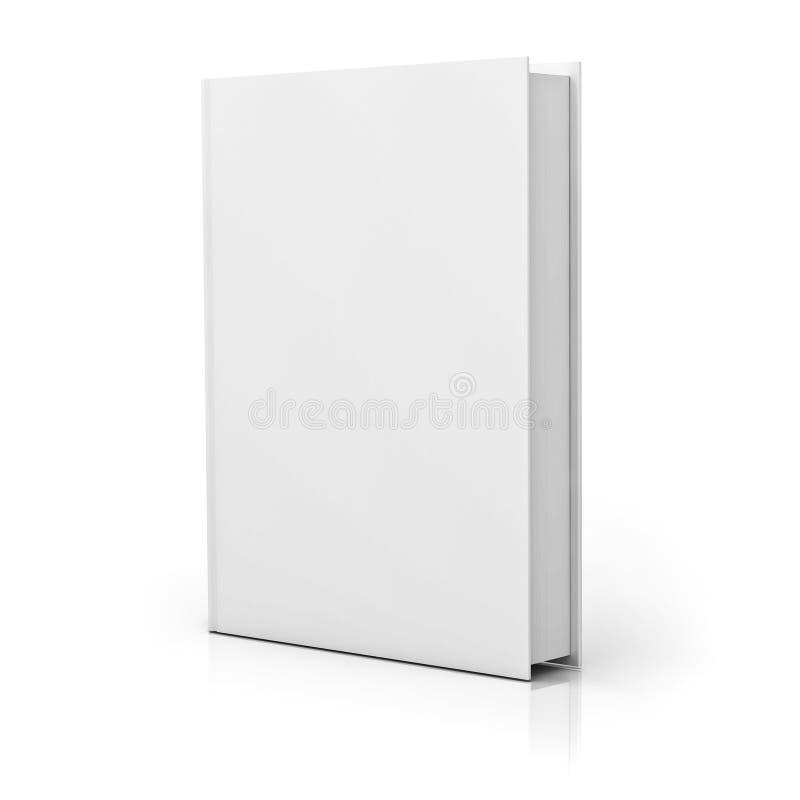 Κενή κάλυψη βιβλίων με την αντανάκλαση απεικόνιση αποθεμάτων