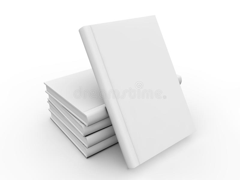 Κενή κάλυψη βιβλίων απεικόνιση αποθεμάτων
