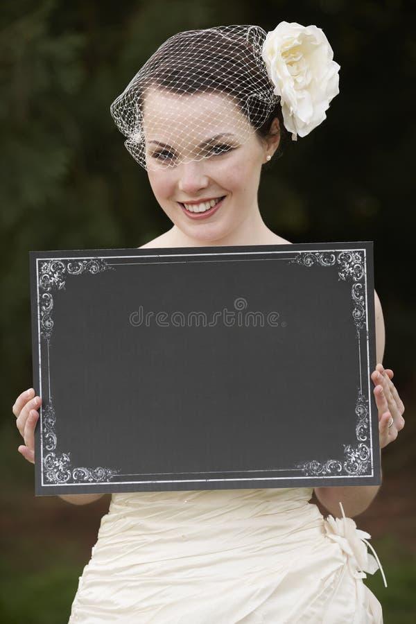 κενή νύφη χαρτονιών στοκ φωτογραφία με δικαίωμα ελεύθερης χρήσης