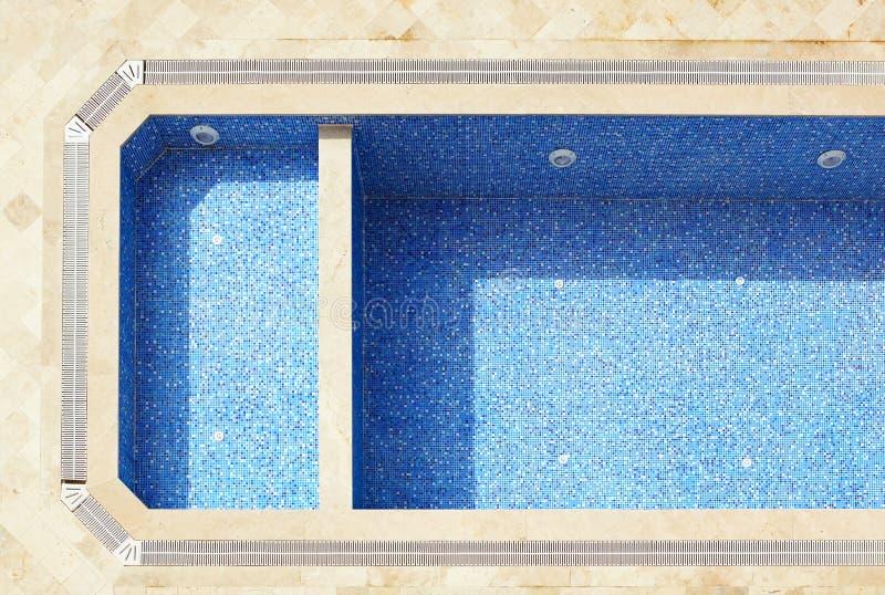 Κενή πισίνα στοκ εικόνα με δικαίωμα ελεύθερης χρήσης