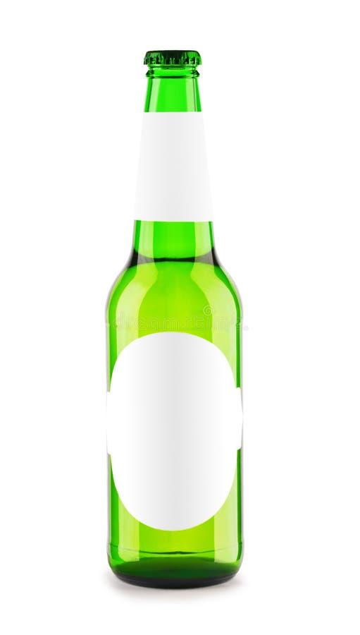 κενή πράσινη ετικέτα μπουκ& στοκ εικόνες με δικαίωμα ελεύθερης χρήσης