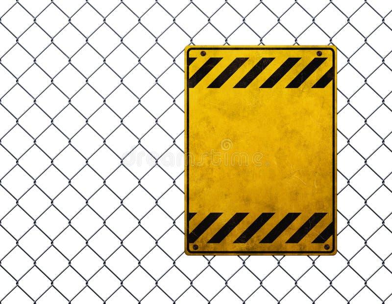 κενή προειδοποίηση σημα&del διανυσματική απεικόνιση