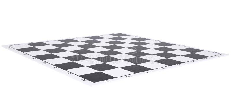 Κενή σκακιέρα διανυσματική απεικόνιση