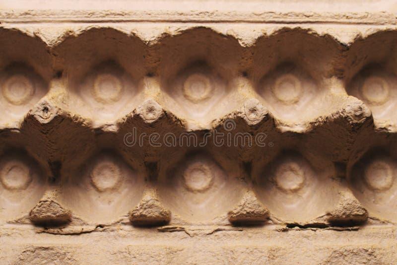 Κενή συσκευασία αυγών χαρτοκιβωτίων στοκ φωτογραφία με δικαίωμα ελεύθερης χρήσης