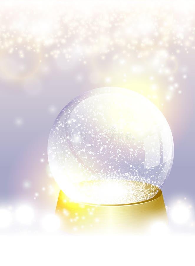 Download Κενή σφαίρα χιονιού Χριστουγέννων Απεικόνιση αποθεμάτων - εικονογραφία από αναδρομικός, κενός: 62724146