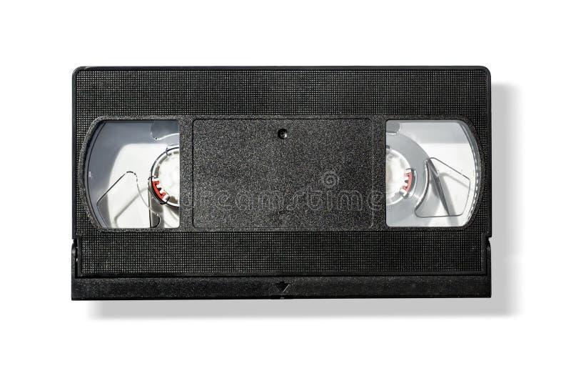 Κενή ταινία κασετών VHS τηλεοπτική στοκ φωτογραφίες με δικαίωμα ελεύθερης χρήσης