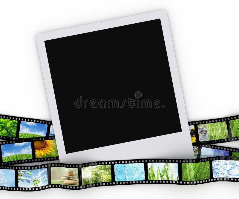κενή φωτογραφία ταινιών ελεύθερη απεικόνιση δικαιώματος