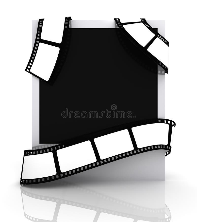 κενή φωτογραφία ταινιών απεικόνιση αποθεμάτων