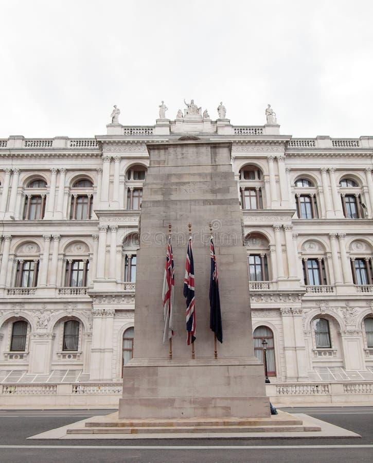 κενοτάφιο Λονδίνο στοκ φωτογραφία με δικαίωμα ελεύθερης χρήσης