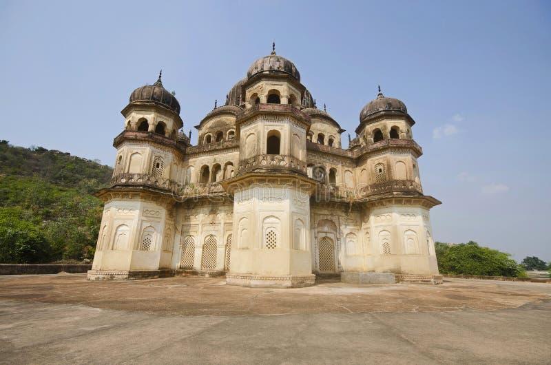 Κενοτάφιο Kamlapati Maharani, Dhubela, κράτος Madhya Pradesh της Ινδίας στοκ φωτογραφίες με δικαίωμα ελεύθερης χρήσης