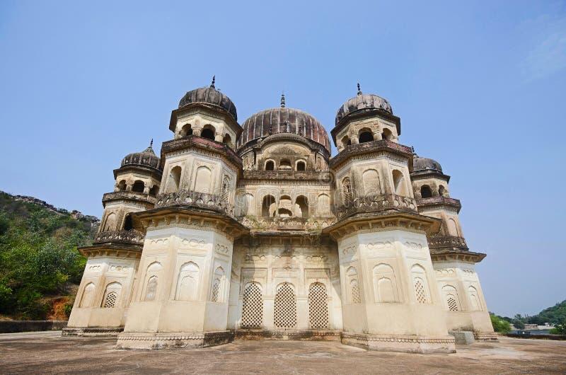 Κενοτάφιο Kamlapati Maharani, Dhubela, κράτος Madhya Pradesh της Ινδίας στοκ φωτογραφία με δικαίωμα ελεύθερης χρήσης