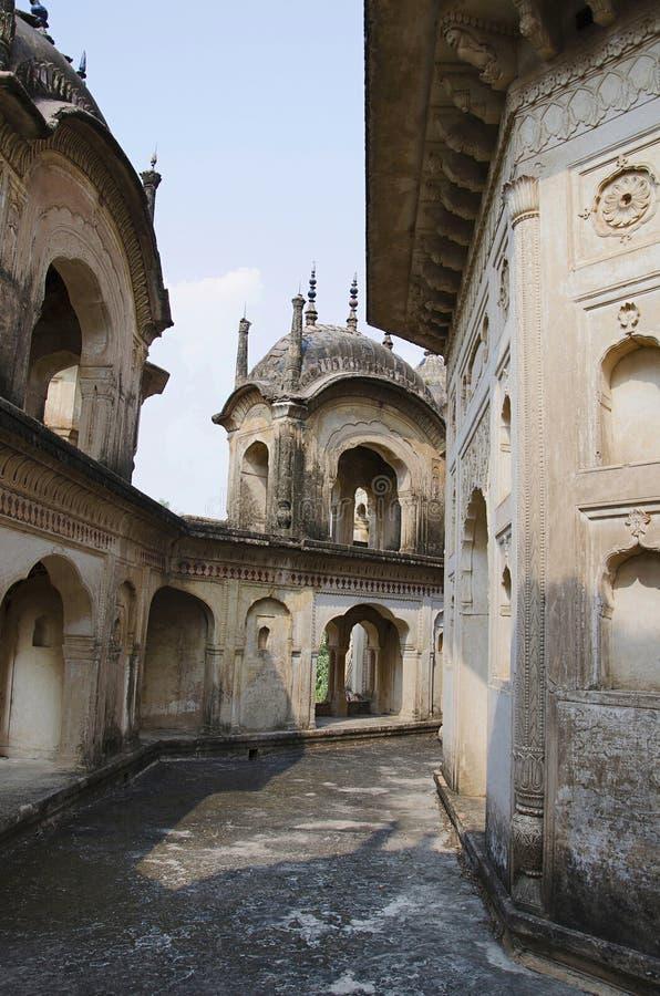 Κενοτάφιο Kamlapati Maharani, Dhubela, κράτος Madhya Pradesh της Ινδίας στοκ φωτογραφίες