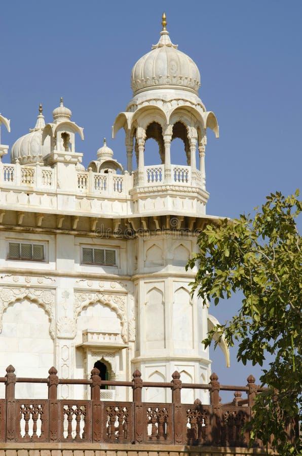 Κενοτάφιο Thada Jaswant, Jodhpur, Rajasthan, Ινδία στοκ εικόνα με δικαίωμα ελεύθερης χρήσης