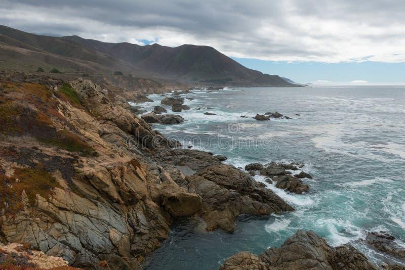 κεντρική ακτή Καλιφόρνιας στοκ εικόνες