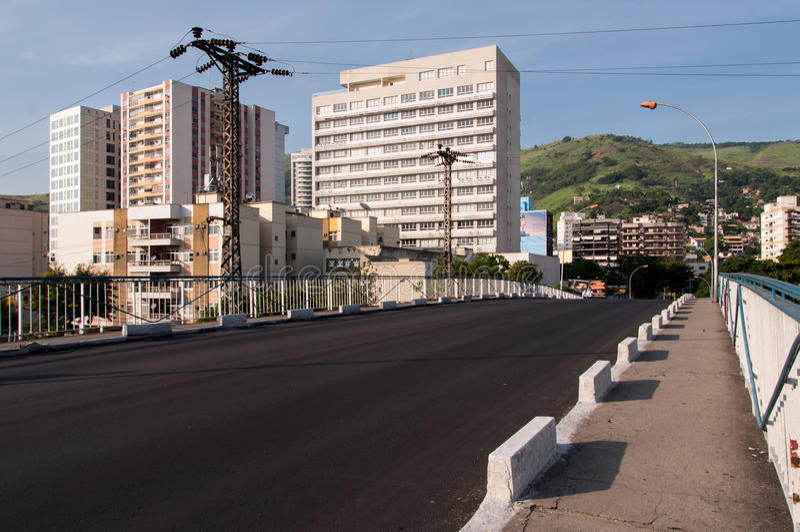 Κεντρική αστική σκηνή πόλεων Iguacu Nova στοκ φωτογραφίες με δικαίωμα ελεύθερης χρήσης