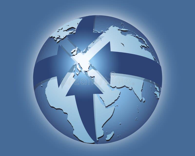 Κεντρική Ευρώπη ελεύθερη απεικόνιση δικαιώματος