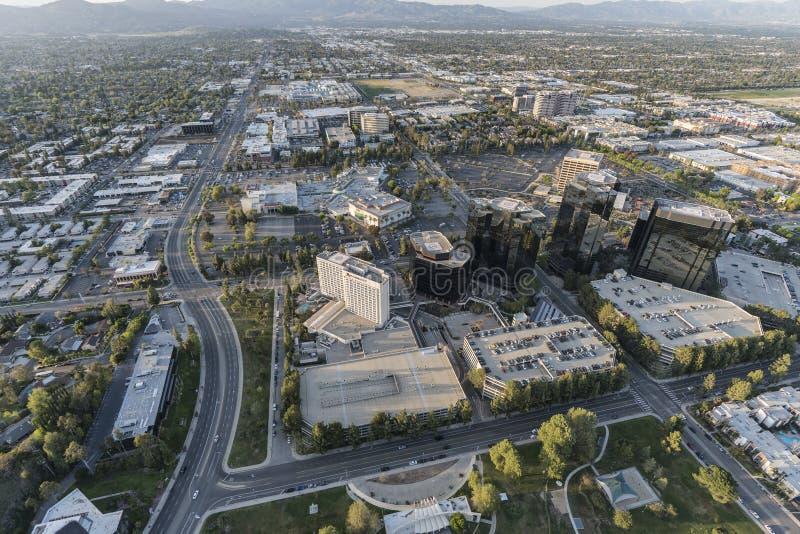 Κεντρική κεραία του Λος Άντζελες Καλιφόρνια Warner στοκ φωτογραφία με δικαίωμα ελεύθερης χρήσης