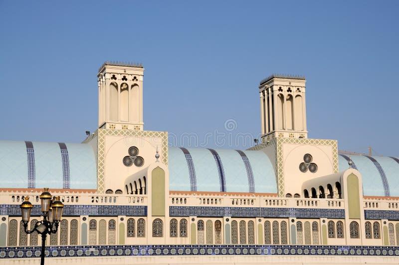 κεντρική Σάρτζα souq στοκ εικόνες