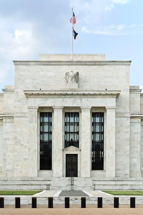 Κεντρική τράπεζα των ΗΠΑ στοκ φωτογραφία με δικαίωμα ελεύθερης χρήσης