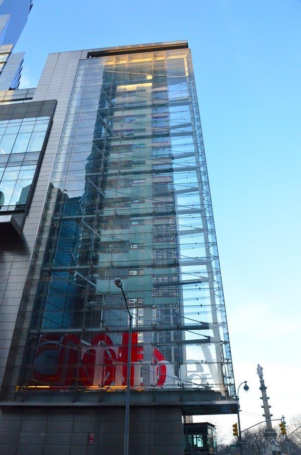 Κεντρικοί πύργοι της Time Warner στοκ εικόνα