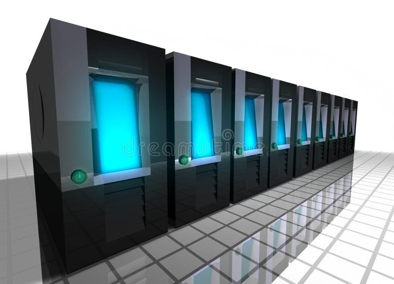κεντρικοί υπολογιστές απεικόνιση αποθεμάτων
