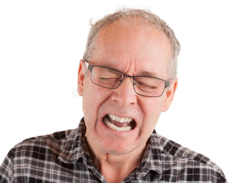Κεντρικός αγωγός στον πόνο στοκ φωτογραφία