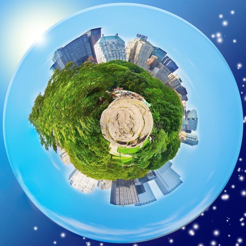 κεντρικός νέος πλανήτης Υό στοκ φωτογραφίες με δικαίωμα ελεύθερης χρήσης