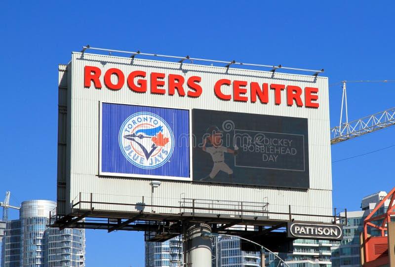Κεντρικός πίνακας διαφημίσεων Rogers στοκ εικόνα με δικαίωμα ελεύθερης χρήσης