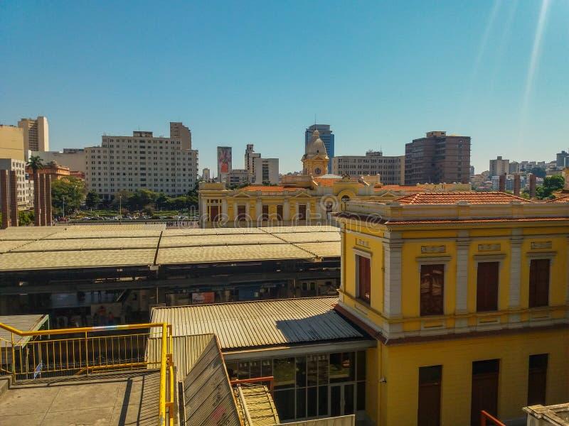 Κεντρικός σταθμός του Μπέλο Οριζόντε στοκ φωτογραφίες με δικαίωμα ελεύθερης χρήσης