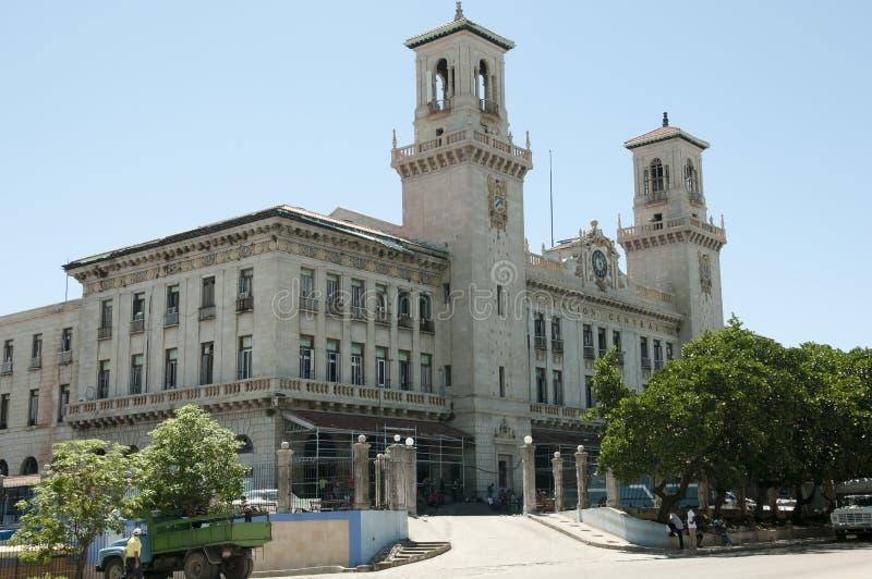 Κεντρικός σταθμός τρένου - Αβάνα - Κούβα στοκ φωτογραφία με δικαίωμα ελεύθερης χρήσης