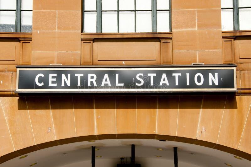 Κεντρικός σταθμός στοκ εικόνες