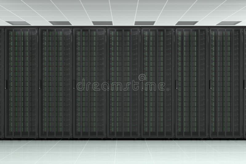 Κεντρικός υπολογιστής δικτύων ακατέργαστος απεικόνιση αποθεμάτων