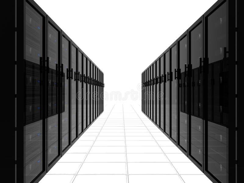 κεντρικός υπολογιστής μονοπατιών ελεύθερη απεικόνιση δικαιώματος