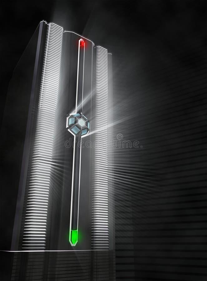 κεντρικός υπολογιστής οπτικών ινών